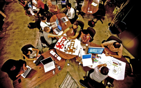 The Modern Workplace: A Mixed-Generation Battlefield? by Megan Thompson, Spark Interiors