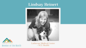 October AYP Member of the Month: Lindsay Reinert, Lutheran Medical Center - SCL Health