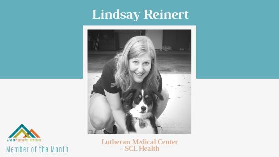 October AYP Member of the Month: Lindsay Reinert, Lutheran Medical Center – SCL Health