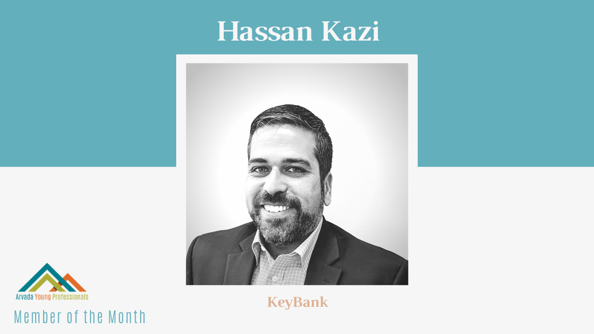 January AYP Member of the Month: Hassan Kazi, KeyBank