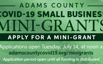Adams County and the City of Arvada Announce Second Round of COVID-19 Mini-Grants for Arvada Small Businesses