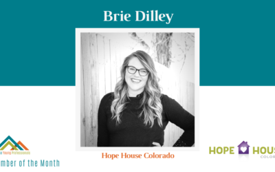 July AYP Member of the Month: Brie Dilley, Hope House of Colorado