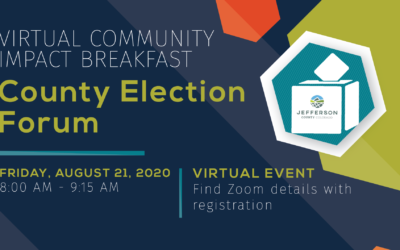 Watch the August Community Impact Breakfast: County Election Forum