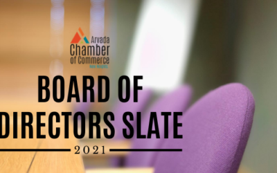 2021 Arvada Chamber of Commerce Board of Directors Slate