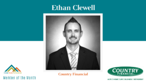 August AYP Member of the Month: Ethan Clewell, COUNTRY Financial