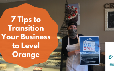 7 Tips to Transition Your Business to Level Orange