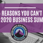 Top 5 Reasons You Can't Miss The 2020 Business Summit