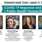 Community Impact Forum: COVID-19 Response and Recovery