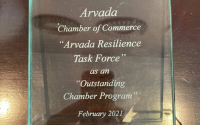 Arvada Chamber of Commerce Recognized with Outstanding Program Award at 2021 W.A.C.E. Annual Conference