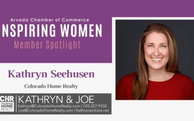 Inspiring Women Member Spotlight: Kathryn Seehusen, Colorado Home Realty