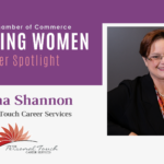 Inspiring Women Member Spotlight: Donna Shannon, Personal Touch Career Services