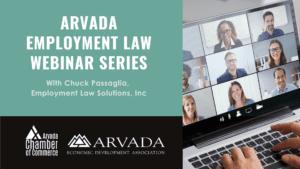 [Webinar Recording] Arvada Employment Law Webinar Series: Managing COVID