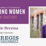 Inspiring Women Member Spotlight: Leslie Brezina, Regis University