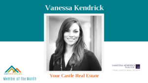 August AYP Member of the Month: Vanessa Kendrick, Your Castle Real Estate
