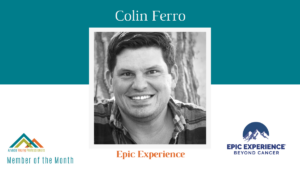 September AYP Member of the Month: Colin Ferro, Epic Experience