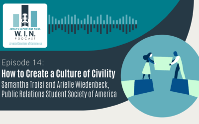 W.I.N. Podcast Episode 14: How to Create a Culture of Civility